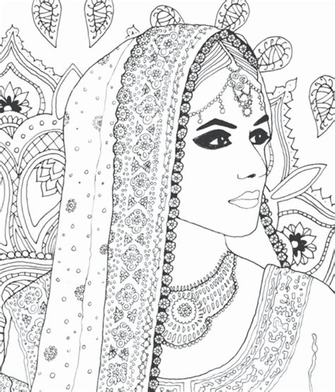 indian bride coloring page top 82 bride coloring pages free coloring page