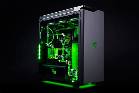 Razer And Maingear Partner On An All Out Gaming Pc Best Gaming Desk Top
