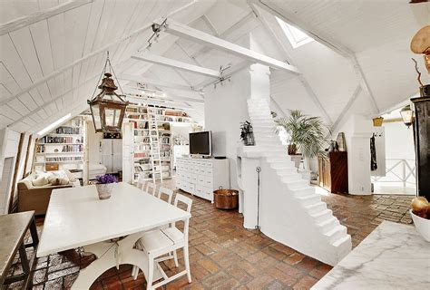 stunning attic apartment in modern and shabby chic styles 3 tile mega mart