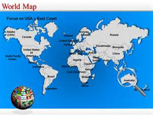 powerpoint template world world map powerpoint editable world map world map ppt