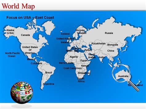 editable worldmap for powerpoint slidemodel with powerpoint world