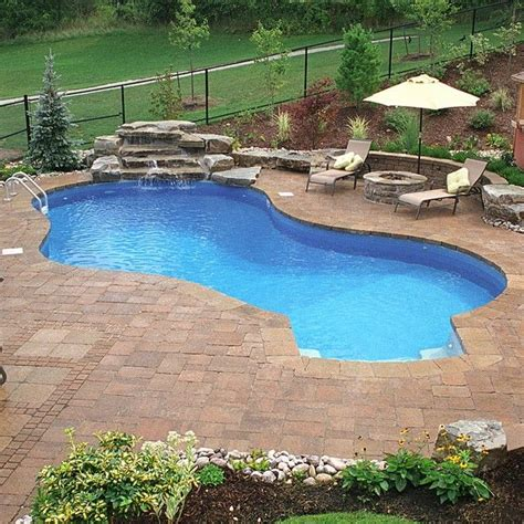 waterfalls for inground pools 17 best images about pools on pinterest swimming pool