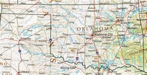 to oklahoma map oklahoma reference map