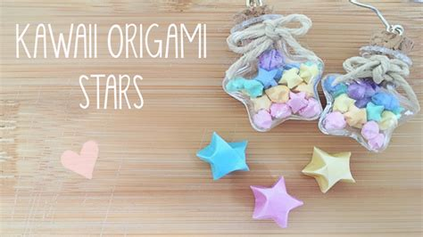 How To Make Lucky Origami - diy mini lucky origami earrings