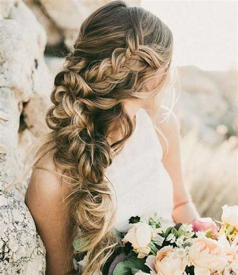 braided hairstyles long hair wedding 25 wedding hair styles for long hair hairstyles