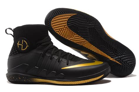 nike basketball shoes black and gold style guru fashion