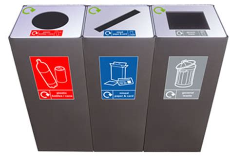 scow back waste containers office recycling bins office bin recycling bins