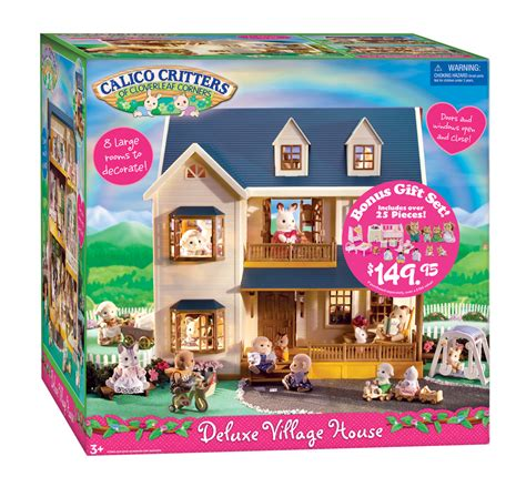 calico critters house calico critters deluxe village house from international playthings another great