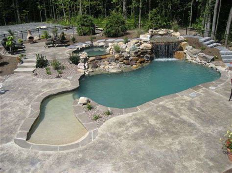Backyard Designs With Inground Pools Gunite Pool Gallery Colley S