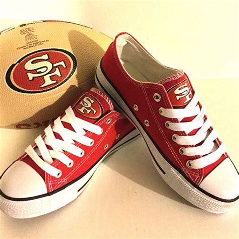 49ers sneakers 55 best images about san francisco 49ers fashion style