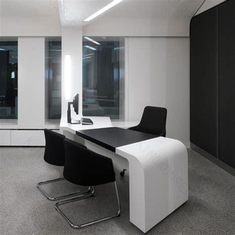 moderne blanc bureau bureau solide surface bureau comptoir