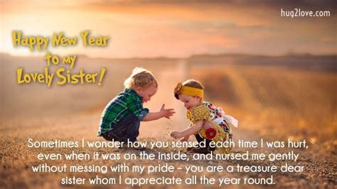 happy  year  quotes  sister wishes  sister
