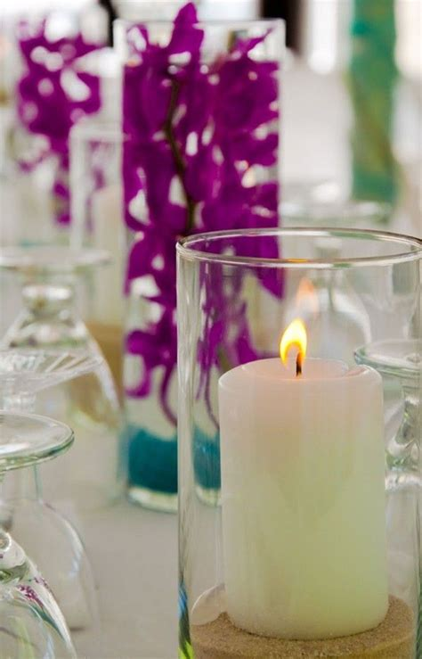 wedding centerpieces with candles and sand 22 best images about 2014 diy wedding centerpiece ideas on candle decorations