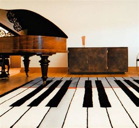 piano keyboard rug theme your room to