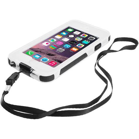 Waterproof White Iphone 6 Plus white waterproof shockproof dirtproof protection