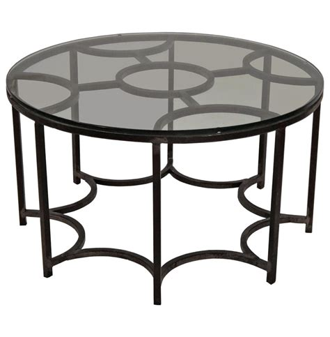 black iron coffee table marrakesh global bazaar moroccan black iron glass coffee table