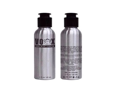 Detox Charcoal by Voox Detox Charcoal Thailand Best Selling Products