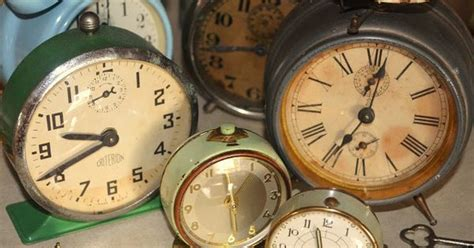 themes alarm clock old clocks can be strewn down the center of a long