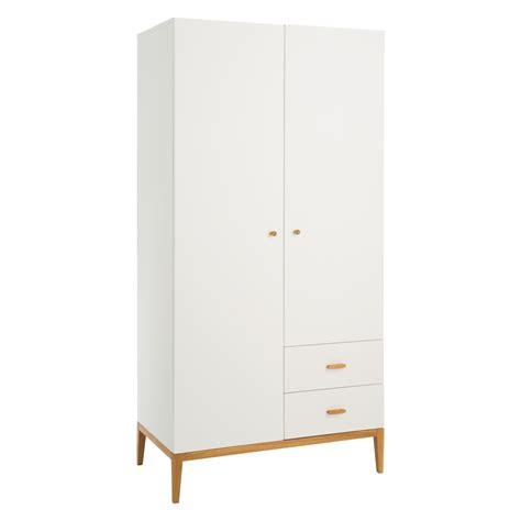 Tatsuma white 2 door wardrobe buy now at habitat uk