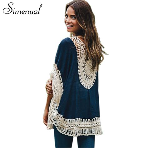 Promo Aulia Tunic Hitam Best Seller big size bohemian handmade crochet lace blouses