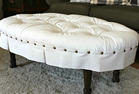 Diy Round Tufted Ottoman Doherty House Tufted Ottoman Diy Tufted Storage Ottoman