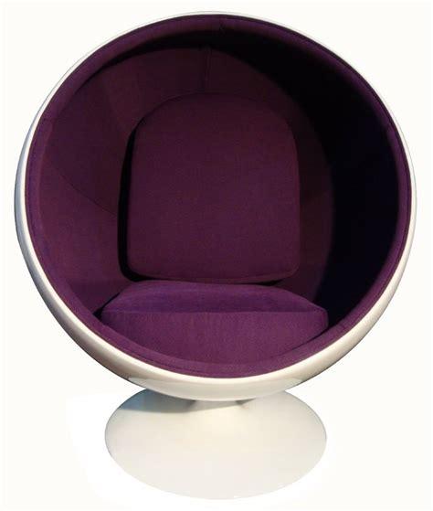 Purple Chaise Lounge Chair Ball Chair Ball Chair Von Eero Aarnio