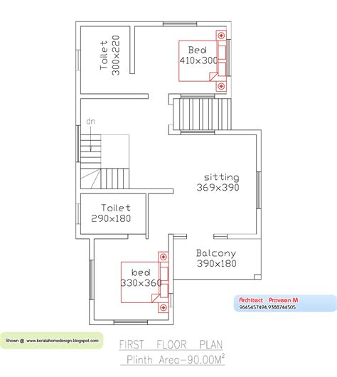 1170 square feet floor plan and elevation kerala home home plan and elevation 2013 sq ft kerala home design