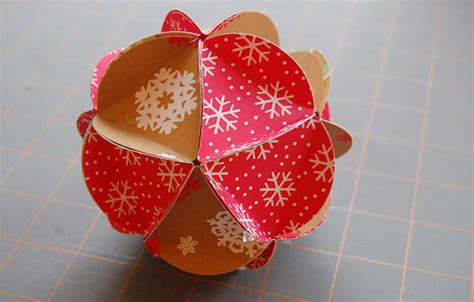 Paper Balls How To Make - hello wonderful how to make a paper ornament