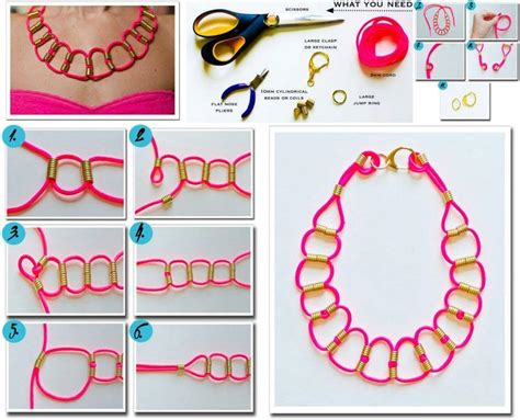 Handmade Project Ideas - diy neon paracord necklace diy projects usefuldiy