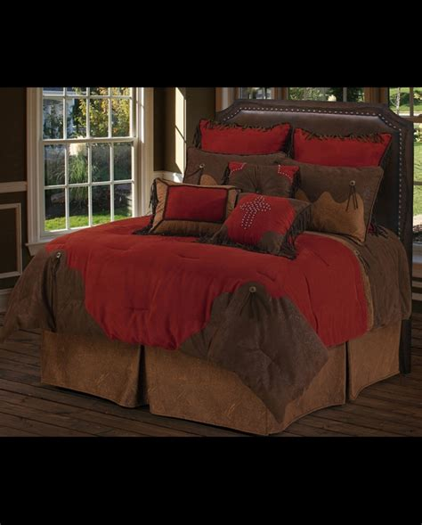 red comforter set queen red rodeo 5 piece comforter set super queen fort brands