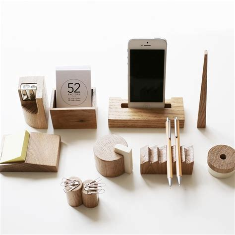 wood desk accessories 1000 ideas about wooden desk organizer on