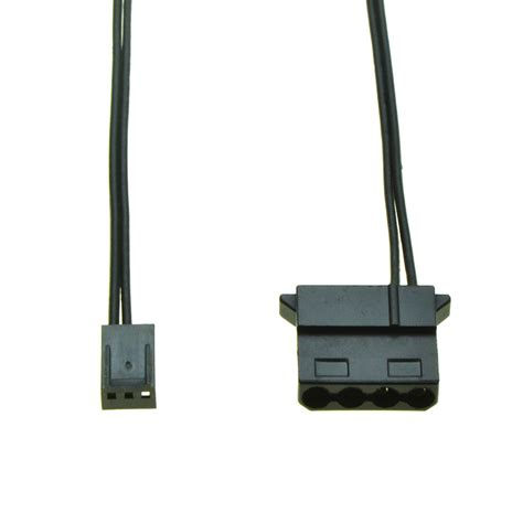 3 pin molex connector fan 4pin molex female port to 3pin female pc fan