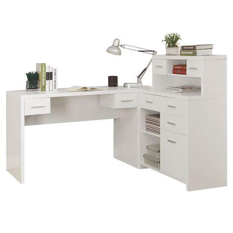 Jordi White Modern Desk Set Eurway Furniture White Desk Set