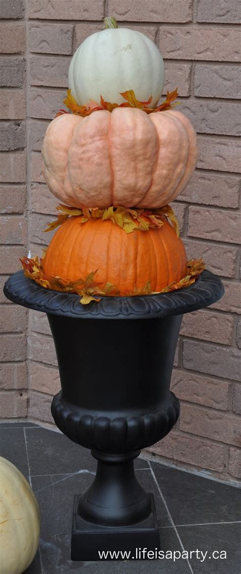 Pumpkin Tower Decoration by Ombre Pumpkin Tower Is A