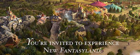 disney new fantasyland seven dwarfs mine concept new fantasyland annual passholder preview details and
