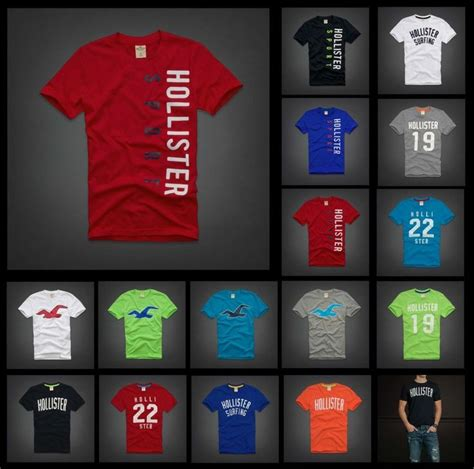 Ricks Clothing Polo Shirt Hollister Hitam Spesial Edition hollister abercrombie mens tshirt henley v neck fit s m l xl henleys