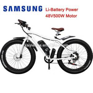 500w big power fat tire mountain electric bike 48v beach cruiser fat