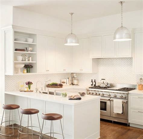 small kitchen design ideas that looks bigger and modern