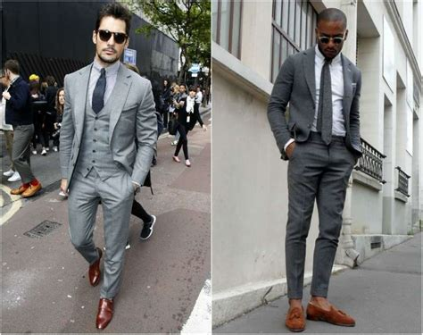 what color shoes to wear with grey suit what shirts to wear with a grey suit the idle