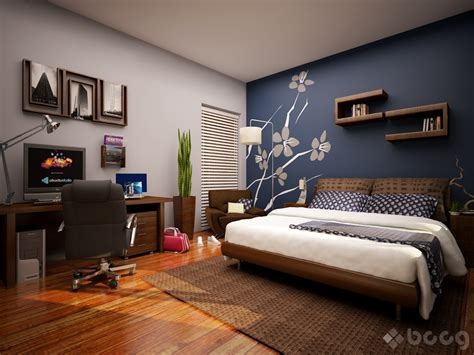 Bedroom Accent Wall Grey Bedroom Walls That Pack A Punch
