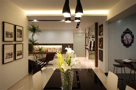 modern apartment in singapore with a clean design modern dining room other metro by max t