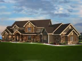 home design set the trail elk trail rustic luxury home plan 101s 0013 house plans and more