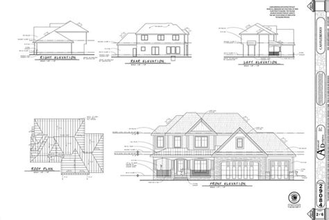 floor plans and elevations of houses elevations the new architect