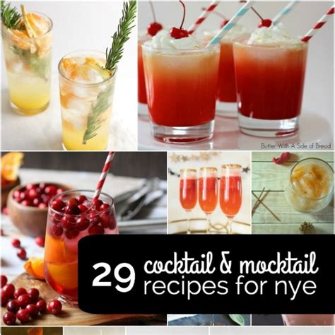 new year mocktail recipes 29 cocktail and mocktail recipes for new years