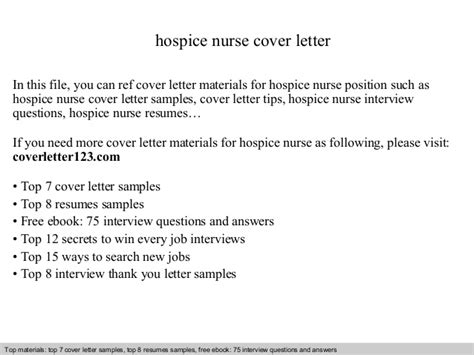 Hospice Aide Cover Letter hospice cover letter