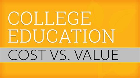 What Is The Value Of A College Education Essay by The Value Of A College Education Part 1