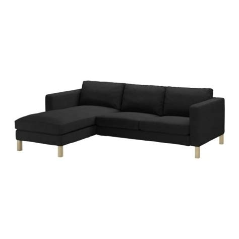 karlstad chaise cover ikea karlstad 2 seat loveseat sofa and chaise slipcover