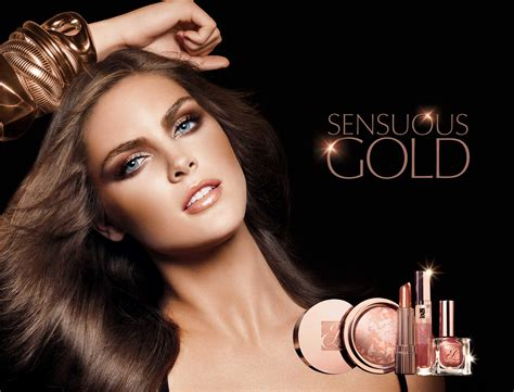 Makeup Estee Lauder markets and makeup estee lauder sensuous gold