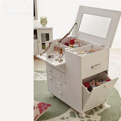 Design Small Bedroom by Contemporary Dressing Table With Folding Mirror For Small