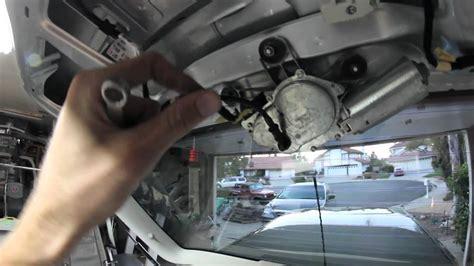 volkswagen gti rear windshield wiper delete youtube